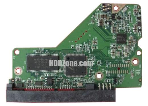 2060-771818-000 WD Placa Lógica Electrónica del Disco Duro
