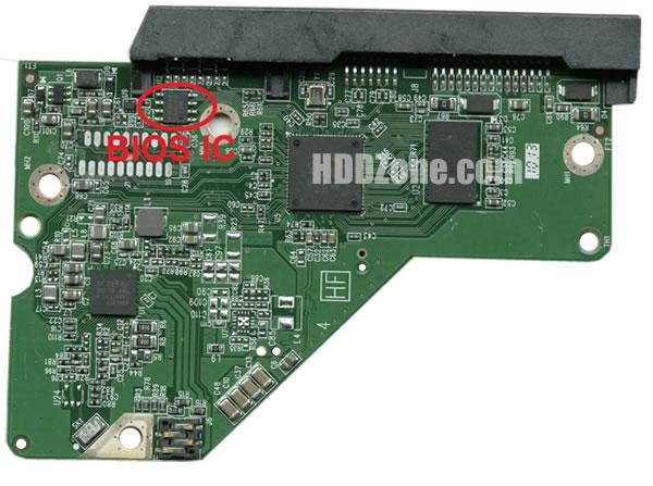 2060-771945-000 WD Placa Lógica Electrónica del Disco Duro