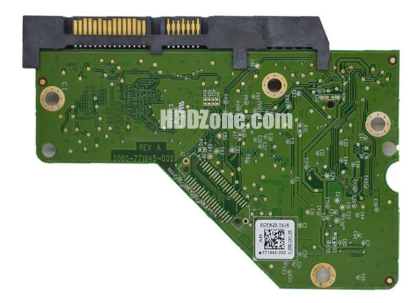 2060-771945-002 WD Placa Lógica Electrónica del Disco Duro