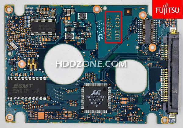 Cambiar Tarjeta Lógica del Disco Duro Fujitsu