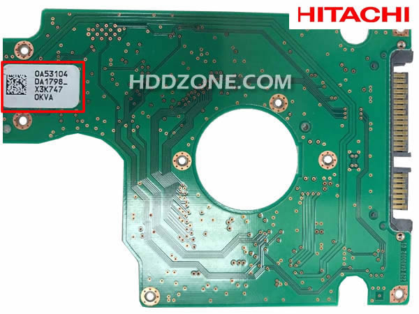 Cambiar Tarjeta Lógica del Disco Duro Hitachi