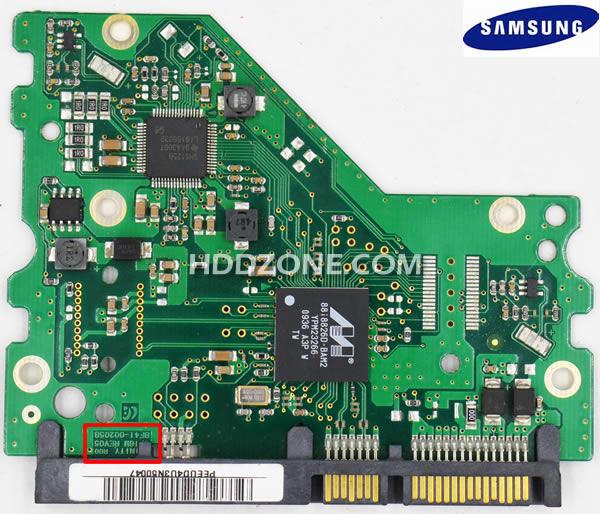 Cambiar Tarjeta Lógica del Disco Duro Samsung