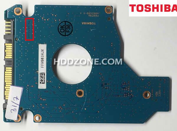 Cambiar Tarjeta Lógica del Disco Duro Toshiba